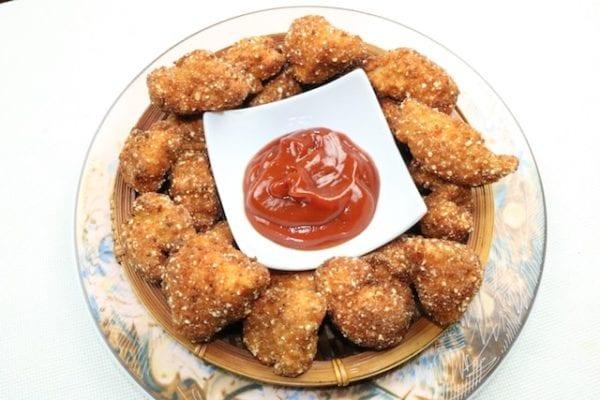 Nuggets de Pollo, super sabrosos y super crujientes