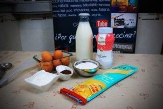 ingredientes pasta filo