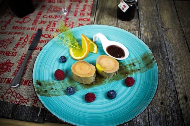mi-cuit foie gras