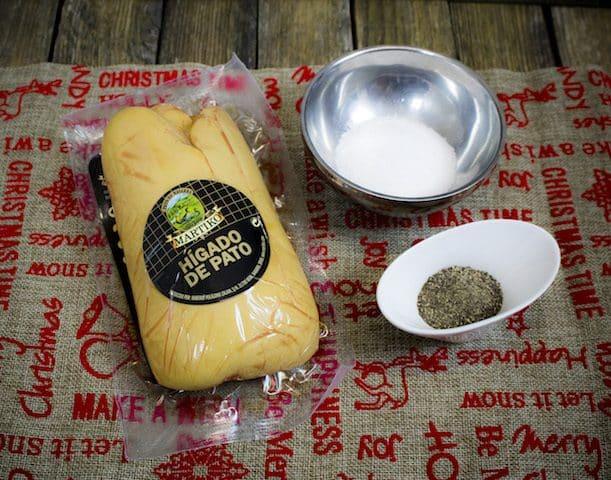 receta Foie Gras