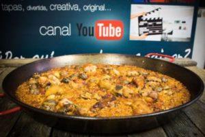 Receta fácil de paella de carne